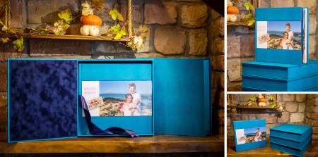 весільна фотокнига з фотовставкою на акрилі в подарункові коробці #8