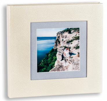 весільна фотокнига ,обкладинка шкірзаміник з фотовставкою #1