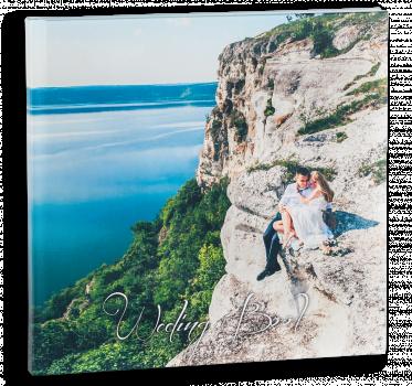весільна фотокнига з фотодруком на холсті #2
